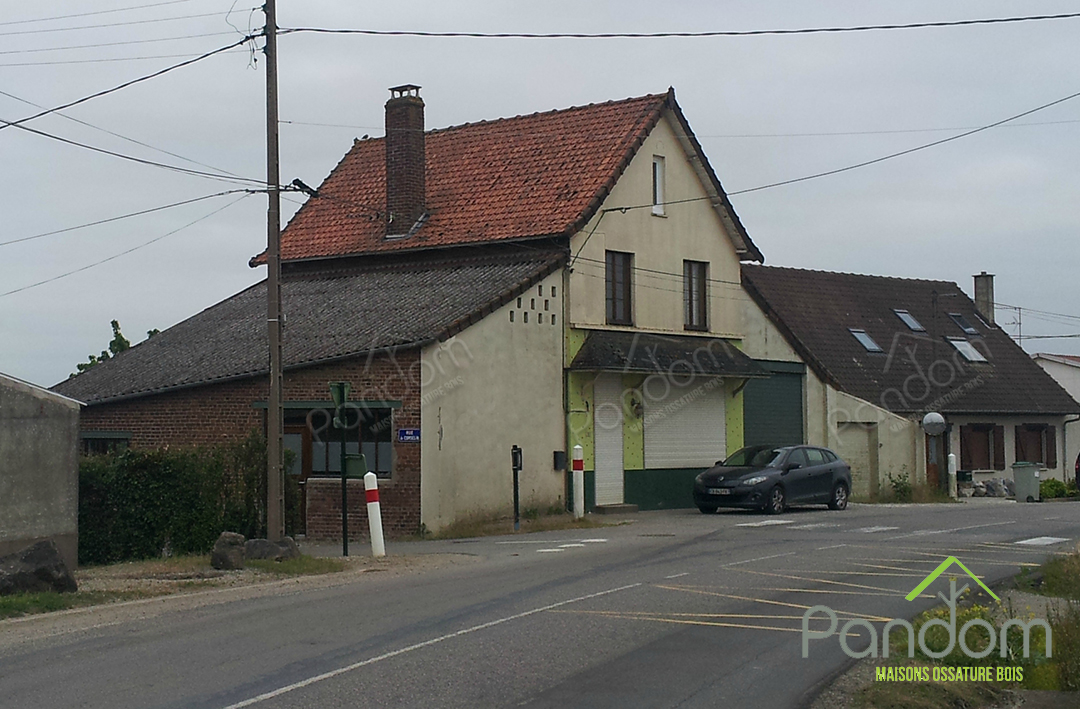 Maison avant extensions Pandom