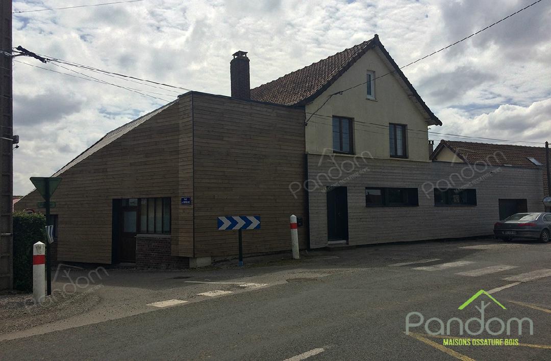 Extensions de maison en bois par Pandom pour particuliers